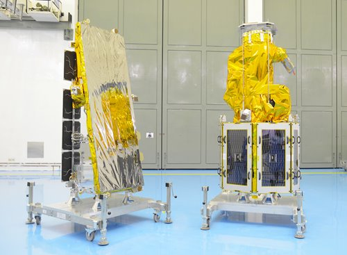 NovaSAR-1 and SSTL S1-4 countdown to launch