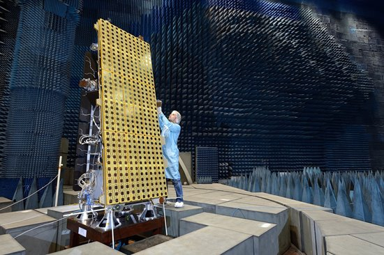 NovaSAR-1 on test