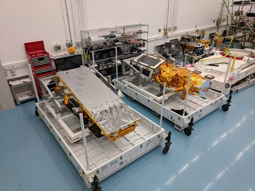 SSTL announces NovaSAR-1 and SSTL S1-4 will launch on ISRO's PSLV