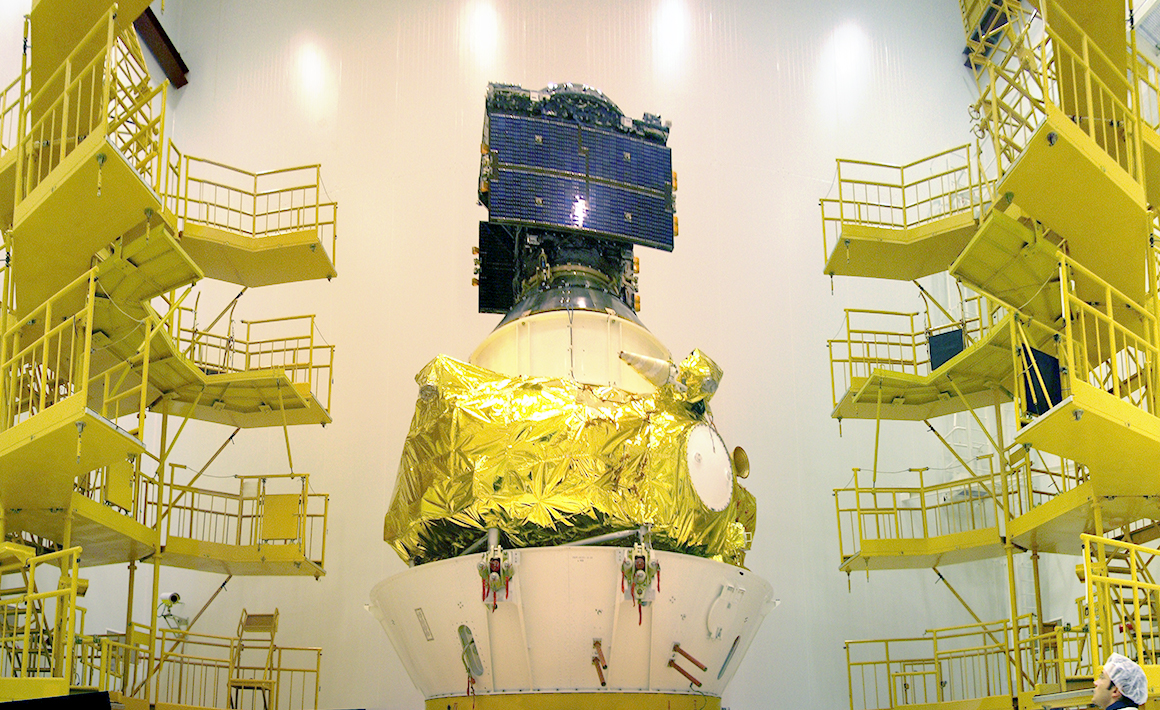 First Galileo positioning satellite for Europe, GIOVE-A (2005)