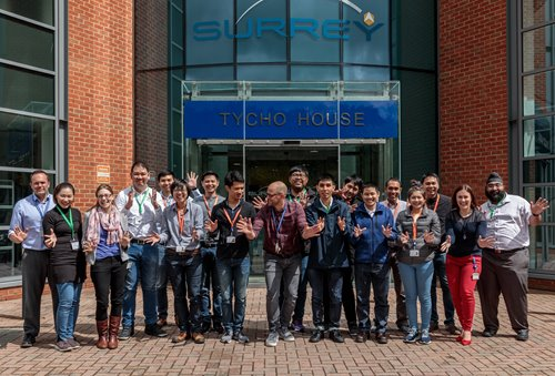 SSTL welcomes Thai engineers for THEOS-2 programme