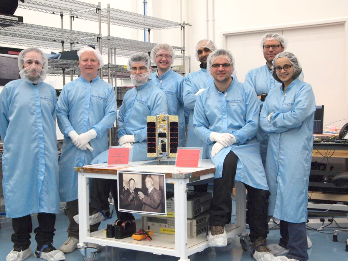 The world's first smartphone in Space 'STRaND-1' ready for launch