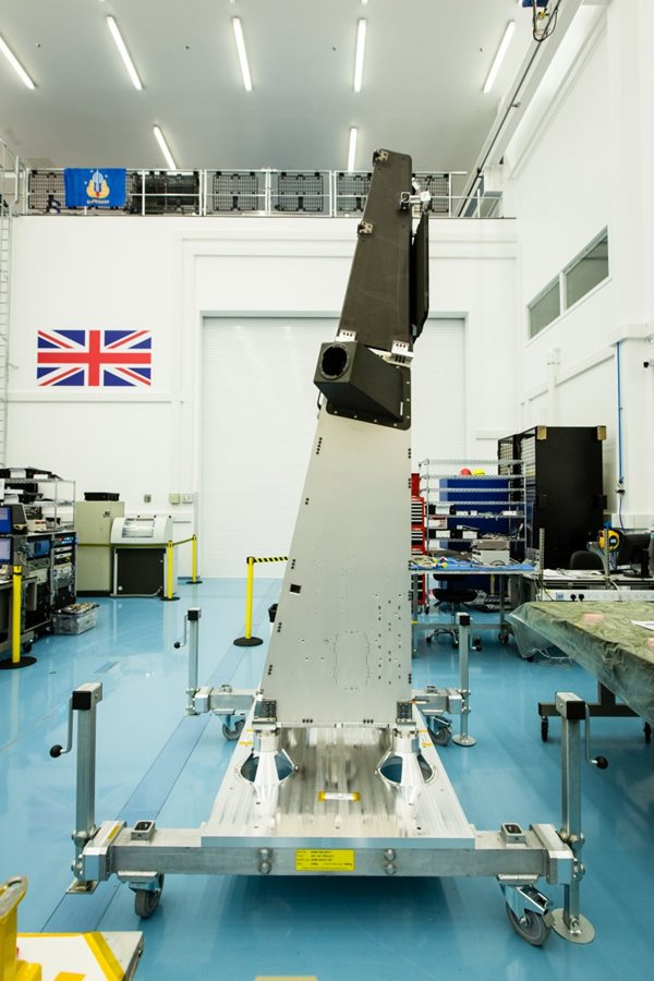NovaSAR radar satellite part-funded by the UK government.