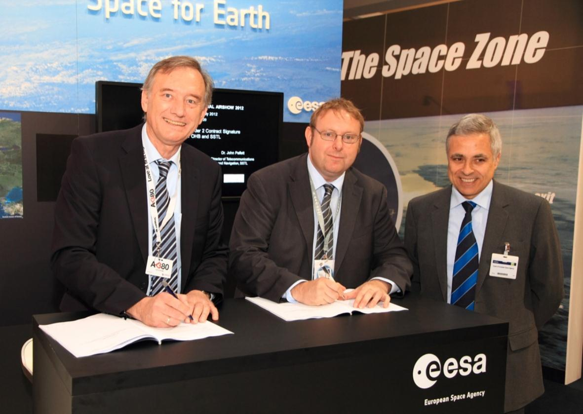 SSTL signs €80m contract with OHB for second batch of Galileo payloads