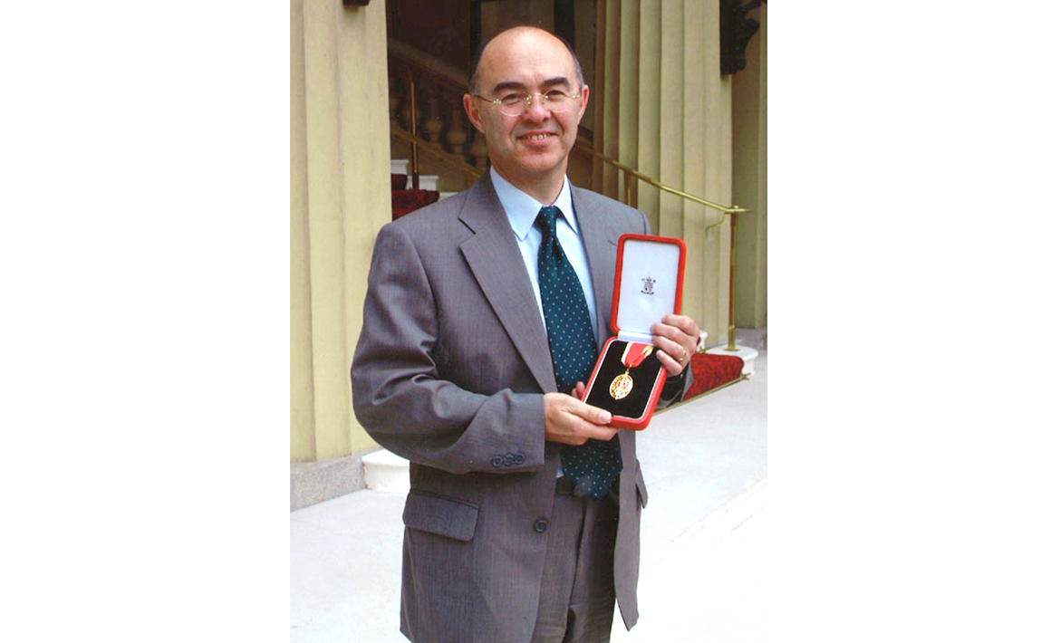 First Knighthood for services to microsatellite engineering, Sir Martin Sweeting (2001)