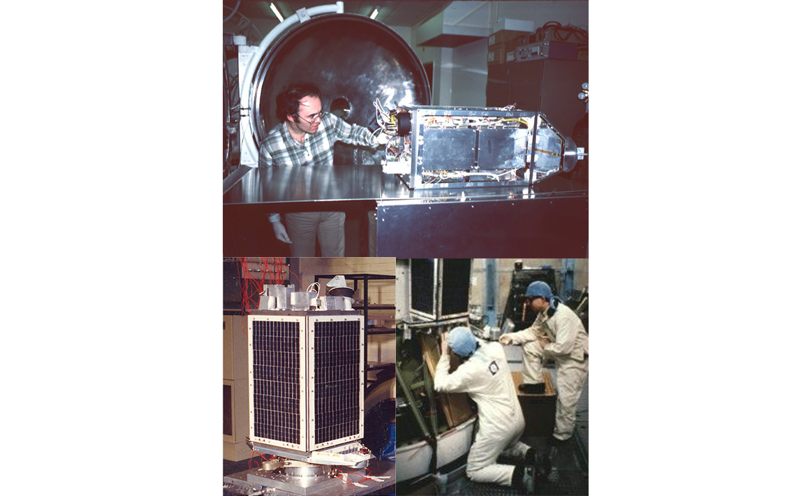First modern digital store-and-forward communications payload, UoSAT-2 (1984)