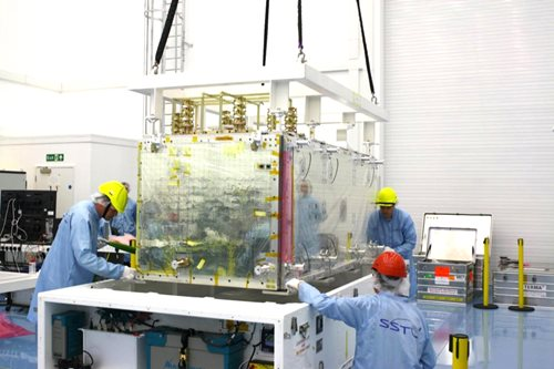 SSTL delivers payload for first Galileo FOC satellite