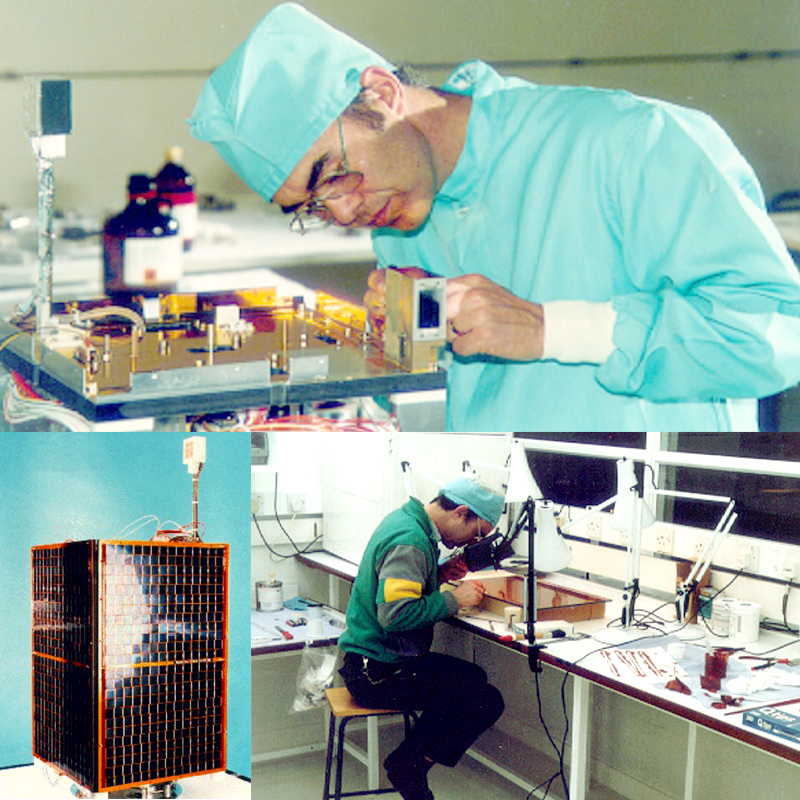 UoSAT-3 and UoSAT-4 Launched 1990