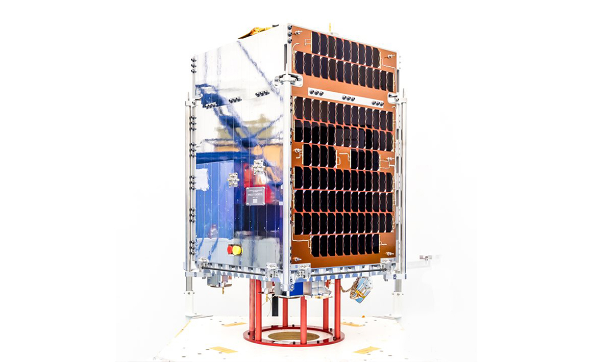 First demonstration of 5G connectivity on a LEO spacecraft, LEO Vantage Phase 1, 2019