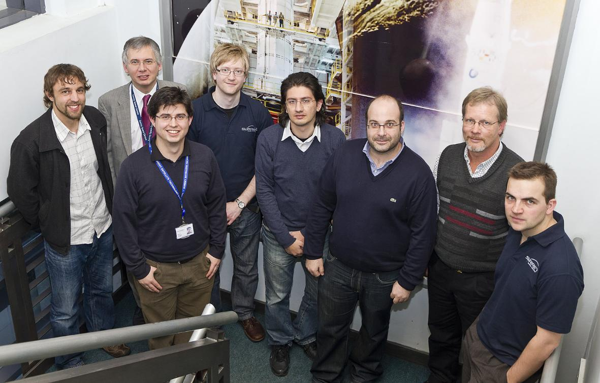 'Smartphone satellite' developed by Surrey space researchers