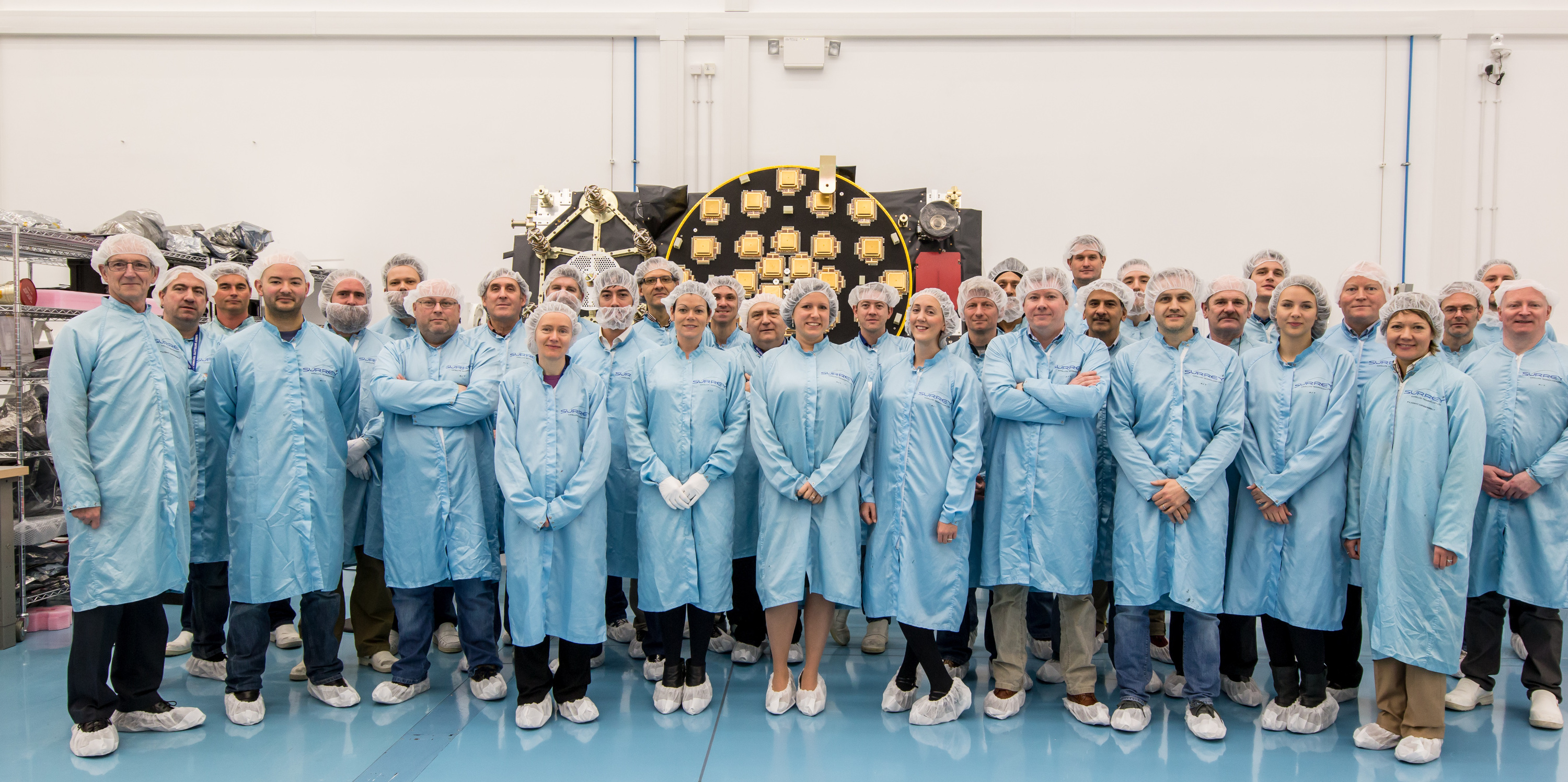 The 22nd FOC payload to be delivered under Works Orders 1&2, with the SSTL team, before shipment to OHB in Bremen