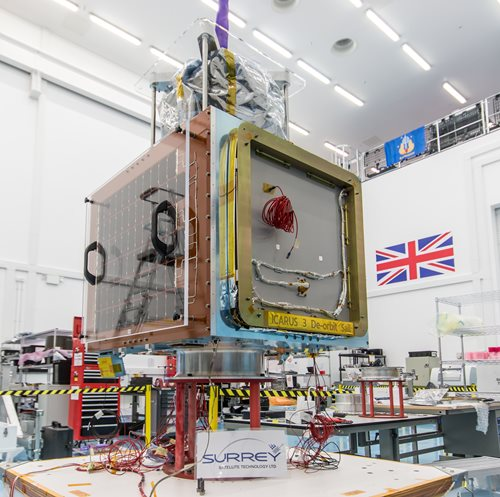 SSTL demonstrates video from orbit capability