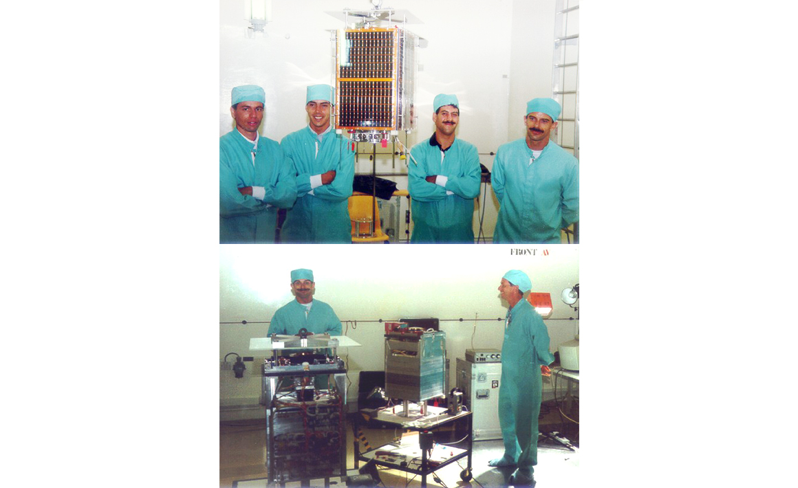 First microsatellite using GPS for on-board orbit determination, PoSAT (1993)