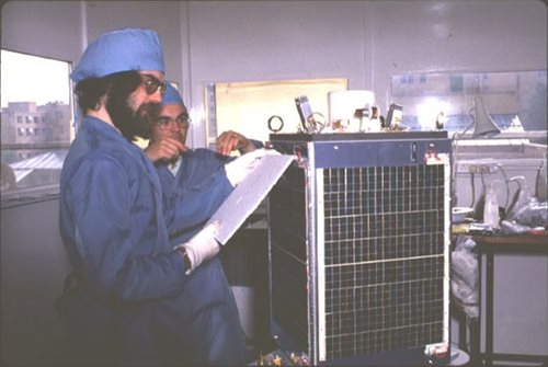 SSTL celebrates 30th anniversary of UoSAT-1