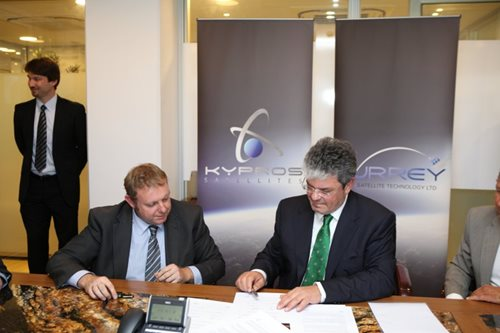 SSTL collaborates with Kypros Satellites