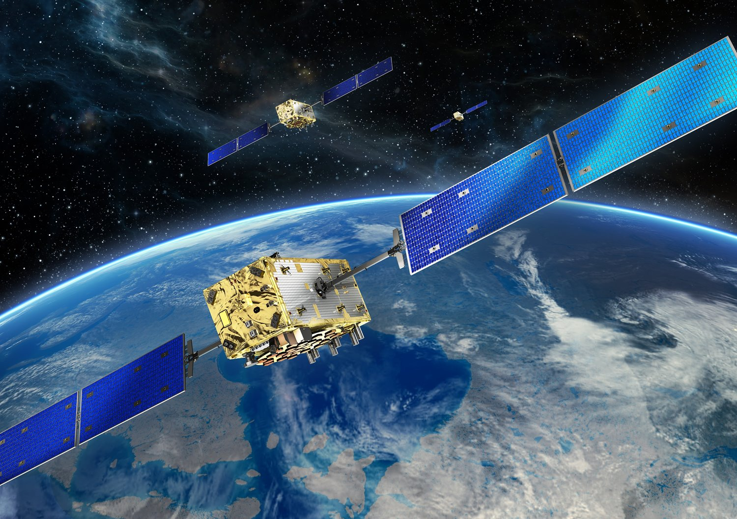 OHB and SSTL selected for the construction of 14 Galileo navigation satellites